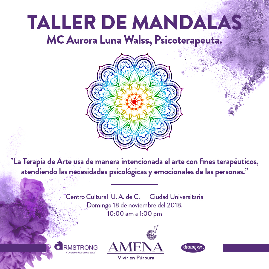 Taller De Mandalas Asociación Mexicana De Epilepsia En Niños Y Adultos